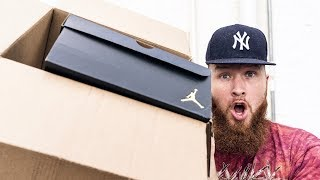 JORDAN SENT ME SOLD OUT SNEAKERS WHEN I WAS ON VACATION! (SURPRISE UNBOXING)