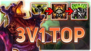 IS THIS THE NEW META OF LEAGUE?! 1V3 TOP?? STACK MASTER NASUS BRINGS 45% MORE PAIN - Patch 7.13