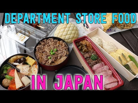 FEASTING at Japanese DEPARTMENT STORE Mitsukoshi in Tokyo Japan