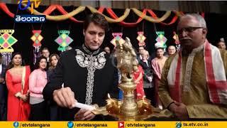 Canada PM Trudeau Celebrates | Diwali with Indian Community