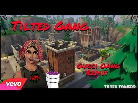 TILTED GANG (Lil Pump - Gucci Gang Remix) FORTNITE PARODY