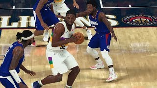 NBA 2K20 My Career EP 119 - Quad Dub vs Clippers Moses!