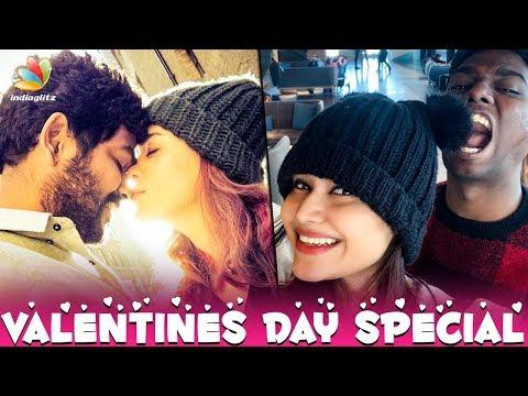 Love & Red Roses From Nayanthara : Vignesh Shivan's Valentine Day Celebration | Hot News Mp3
