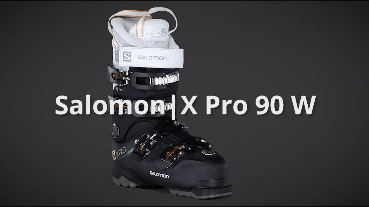 2019 Salomon X Pro 90 W Women's Boot Overview by SkisDotCom