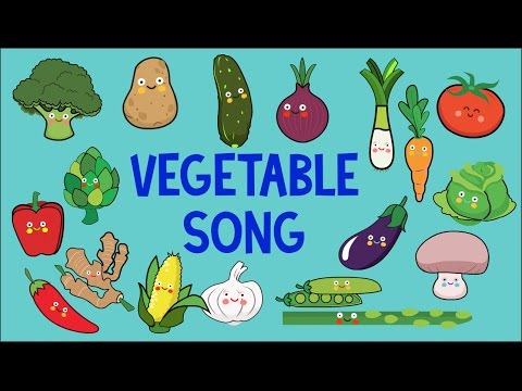 Vegetable Song for children