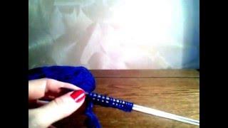 Набор петель при вязании