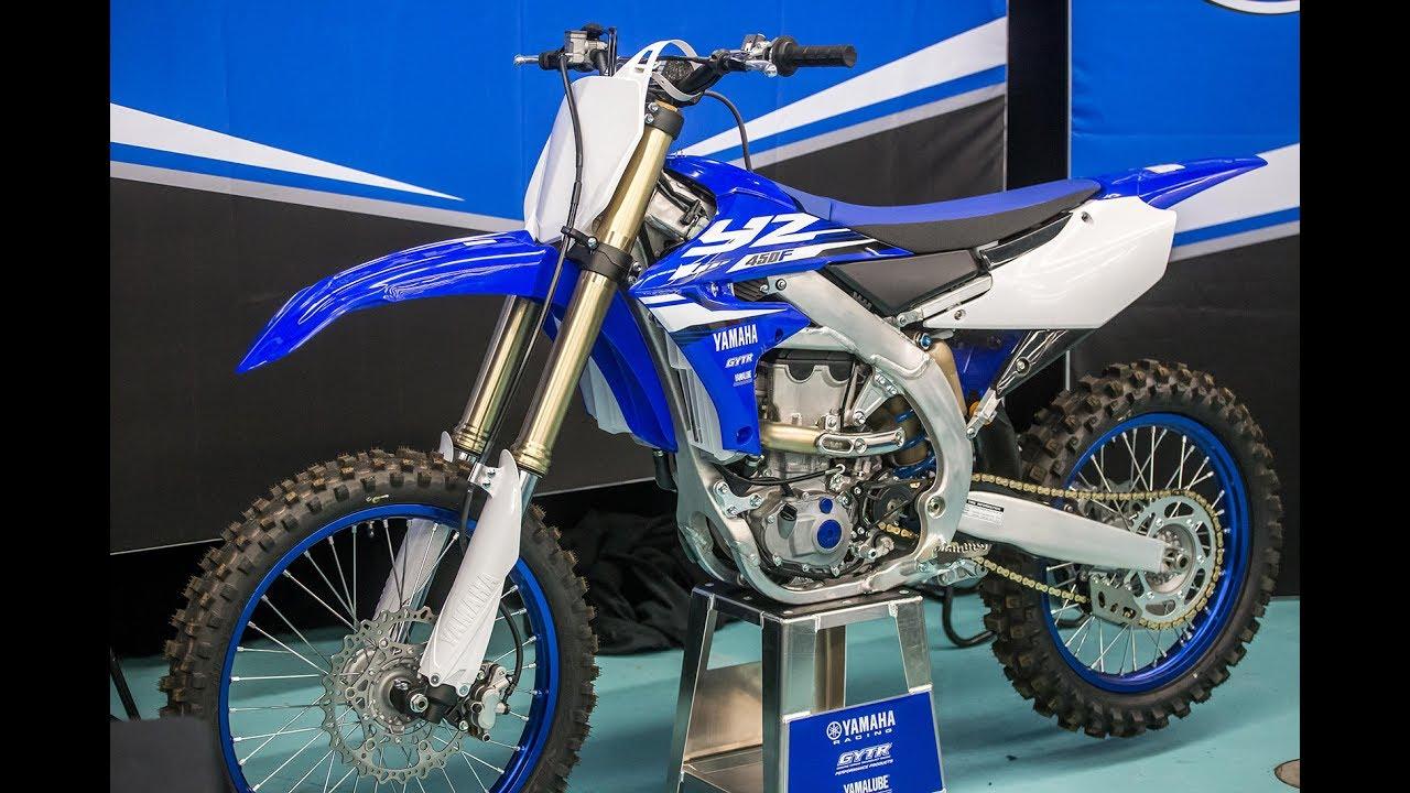First Look 2018 Yamaha YZ450F - Motocross Action Magazine