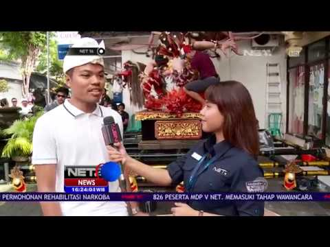 Live Report - Para Pemuda Bali Siapkan Ogoh-Ogoh - NET16