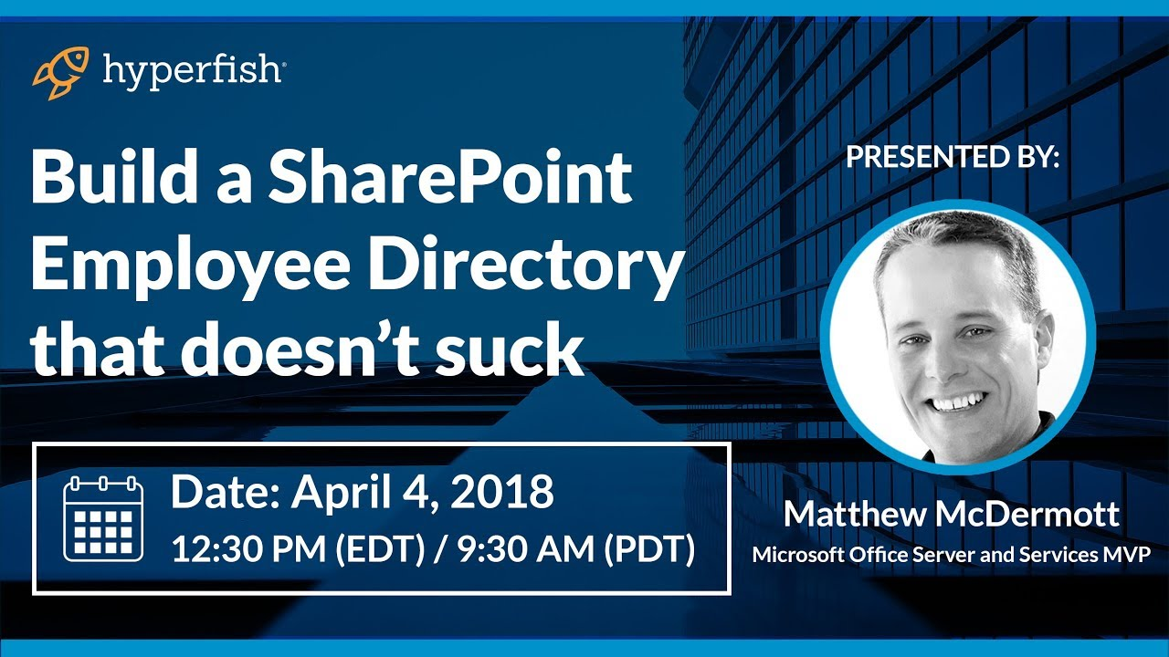 Build a SharePoint Employee Directory that doesn't suck