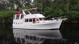 Marine Trader Sundeck 44 1987 sold by Parker Griffo 7/16 TIME OUT