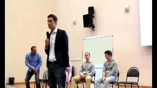 Репортаж с презентации Центра математических финансов