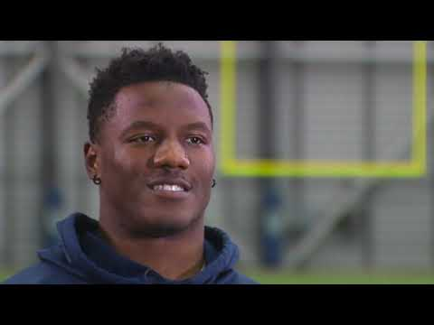 Chris Carson on his toughness on, and off, the field