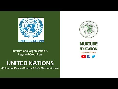 United Nations, UN objectives and principal organs explained in Hindi, UPSC/PSC/RAS Exam 2018, 2019