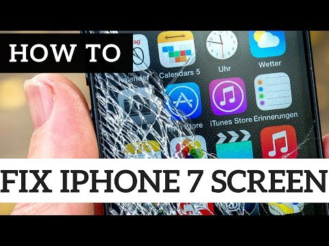 How To Guide: Fix IPhone 7 Cracked Glass - LCD Screen Replacement Repair DIY Tutorial
