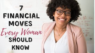 Financial Moves EVERY Woman Should Know About⎟MONEY TIPS FOR WOMEN⎟Frugal Living Tips