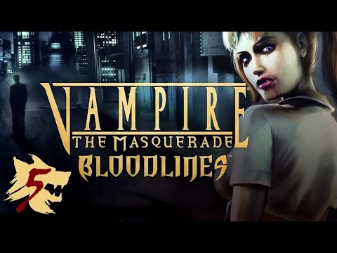 Let's Play Vampire The Masquerade - Bloodlines - Part 5: The Haunted Ocean Hotel! God no!