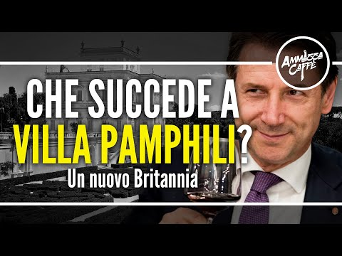 CHE SUCCEDE A VILLA PAMPHILI? - Un nuovo Britannia