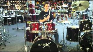 Drum Set Guide Sound Check: Basix Drum Set