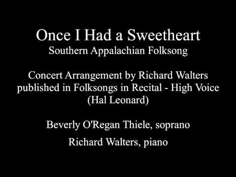 Once I Had A Sweetheart Concert Arrangement By Richard Walters