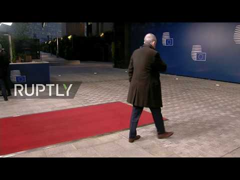LIVE: Day 2 of European Council summit in Brussels: arrivals and roundtable