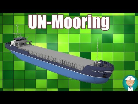 Unmooring Procedures after STS Operations