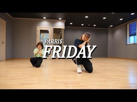 [걸스힙합,안무] PARRI$ - FRIDAY (Kylin)