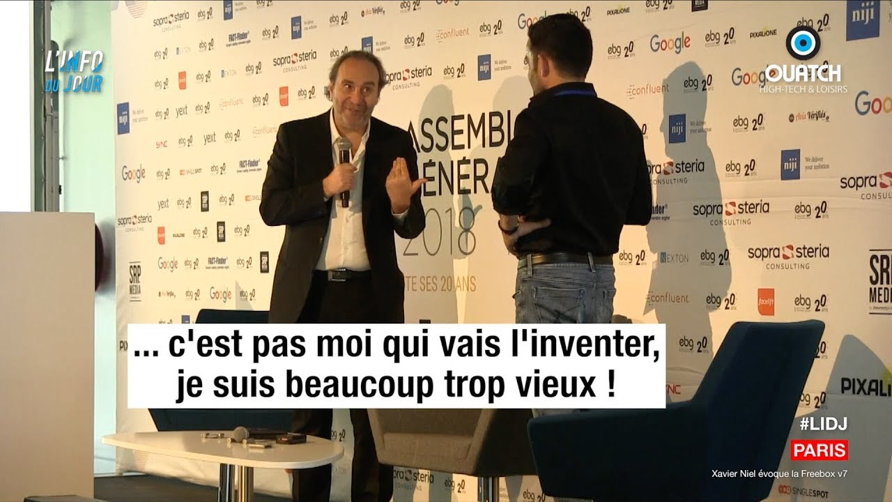 L'info du jour : Xavier Niel lâche les premières infos sur la Freebox V7 - OUATCH
