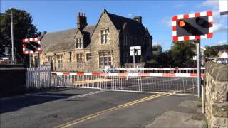 New Level Crossing Lights At Parbold