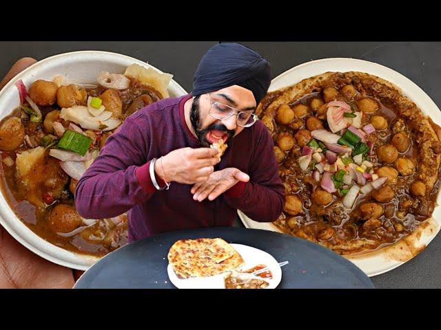 Rs 20 Punjabi Street Food in Delhi