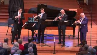Reicha Sinfonico for 4 Flutes, Mvt. 1  - Galway, Langevin, Bouriakov, Höskuldsson