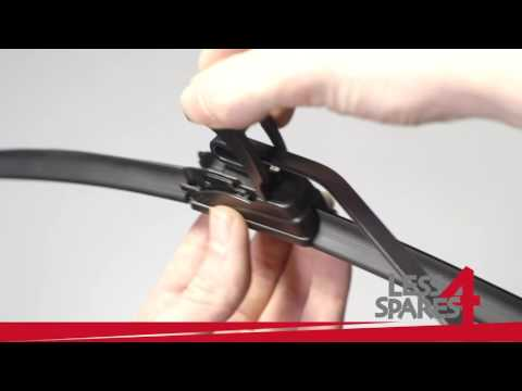 Jaguar X Type 2003 2009 how to fit wiper blades YouTube