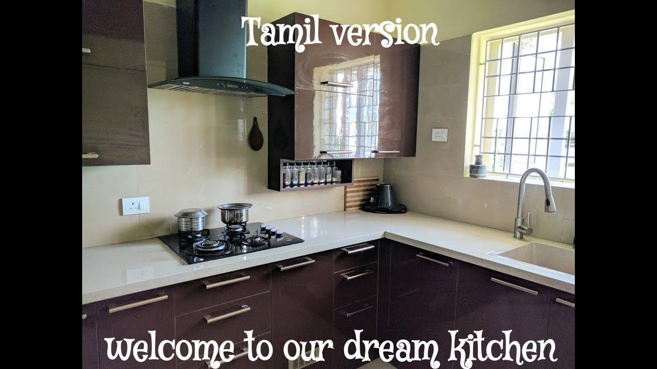 Indian kitchen tour Tamil