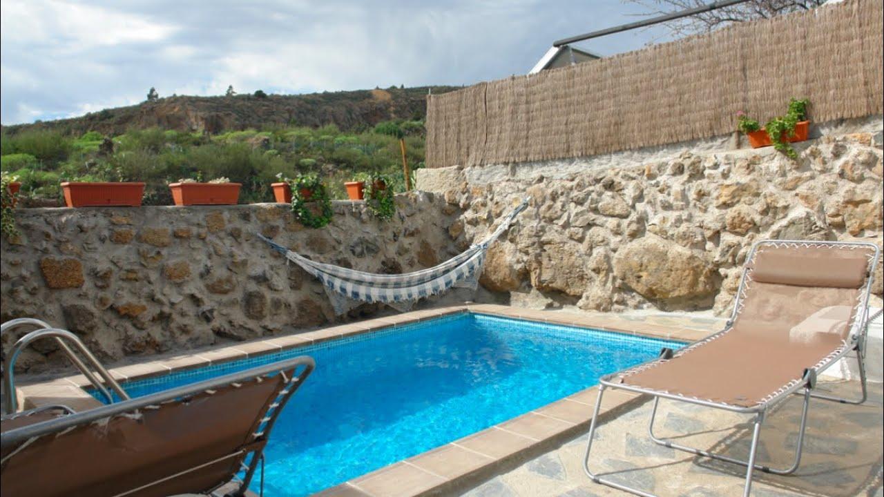Casa rural ram n casa rural con piscina en el sur de for Casas rurales tenerife sur piscina