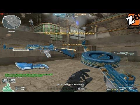 Crossfire NA 2.0 : American 180 Knight Blue  Hero Mode X - Tiền zombie V4
