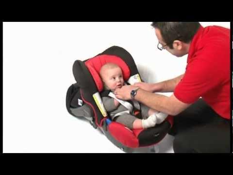 Römer Baby-Safe Plus SHR II Babahordozó Bekötése