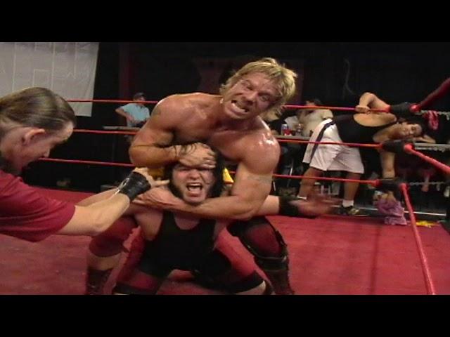 XCW WRESTLING FLASHBACK: Gregory Symonds vs. Joey Spector