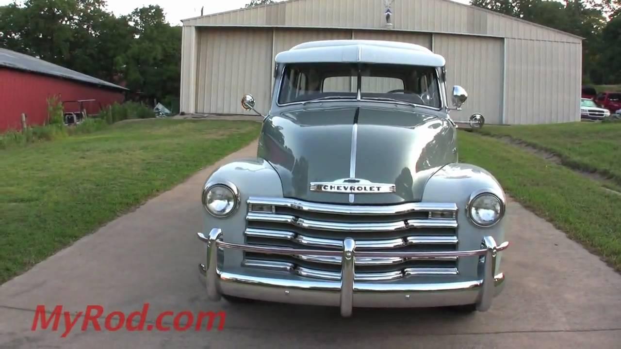 1951 Chevrolet Pickup Carry All (video 2) - MyRod.com ...