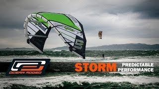 Ocean Rodeo Storm Kite - Variable Wind Storm Kite