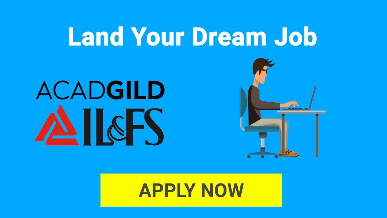 il fs skills training program job oriented skills training by il fs skills training program job oriented skills training by acadgild