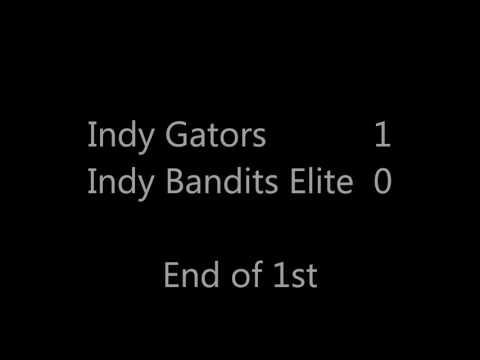 Indy Gators vs. Indy Bandits Elite @ SportZone Indoor Tourney 02/26/2017