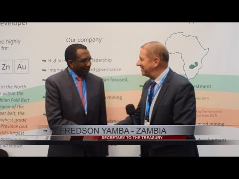 Fredson Yamba, Secretary to the Treasury of the Republic of Zambia, Speaks with Tim Mckinnon