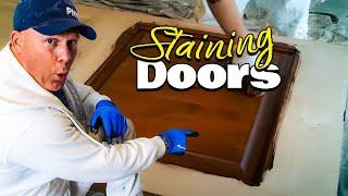Staining An Exterior Wood Door