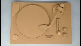 DJ Turntable | How To Make DJ From Cardboard