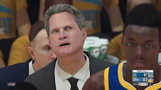 NBA 2K18 Stephen Curry Ankle Breaker Injury