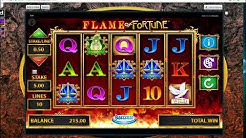 £300 flame of fortune slots