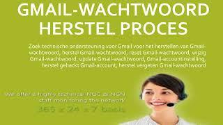 Gmail-wachtwoord herstellen, Gmail Klantenservice Belgie