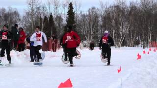 Labrador Winter Games Day 1 Table Tennis/Snow shoe race/ Target Shoot