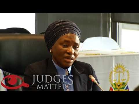 JSC interview of Adv T A N Makhubele SC for the Gauteng High Court (Judges Matter)