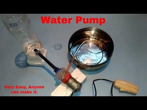 DIY Homemade water pump for kid's