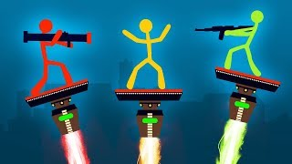 WORLDS MOST INTENSE STICK FIGHT BATTLE! (Stick Fight)